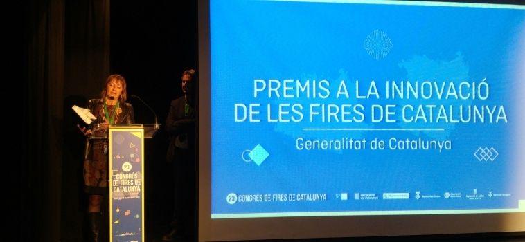 Les Borges recull el premi a la Innovació de les Fires de Catalunya