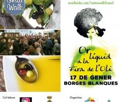 17 DE GENER, INSTAWALK PER LA FIRA DE L'OLI DE LES GARRIGUES!