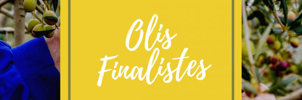 Llistat oficial dels olis finalistes del concurs de l'Oli de la Fira de l'Oli