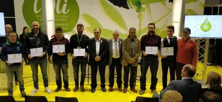 Camins de Verdor, Molí Gabriel Alsina i Mas Montseny millors olis de la Fira de les Garrigues 2018