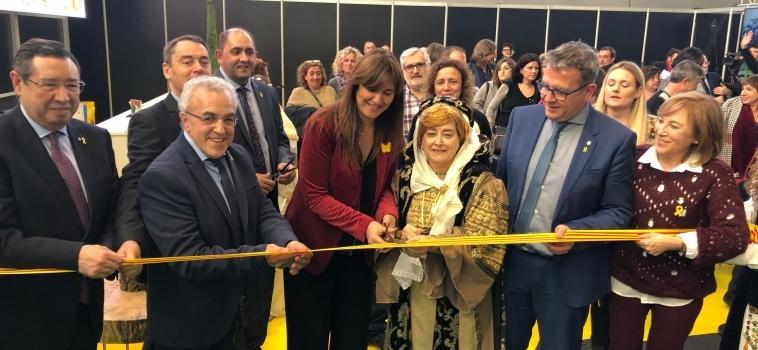 Laura Borràs inaugura la 57a Fira de l'Oli Qualitat Verge Extra i les Garrigues reivindicant l'oli com a producte de futur