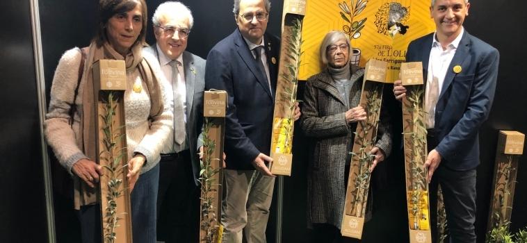 Quim Torra renova el seu compromís amb les Garrigues i inclourà la comarca a la segona fase programa País Viu