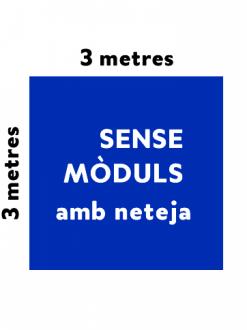 PO – Estand no modular amb neteja